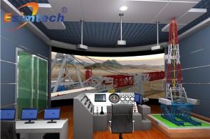 ESIM-FLR2 陆地钻机安装模拟培训系统