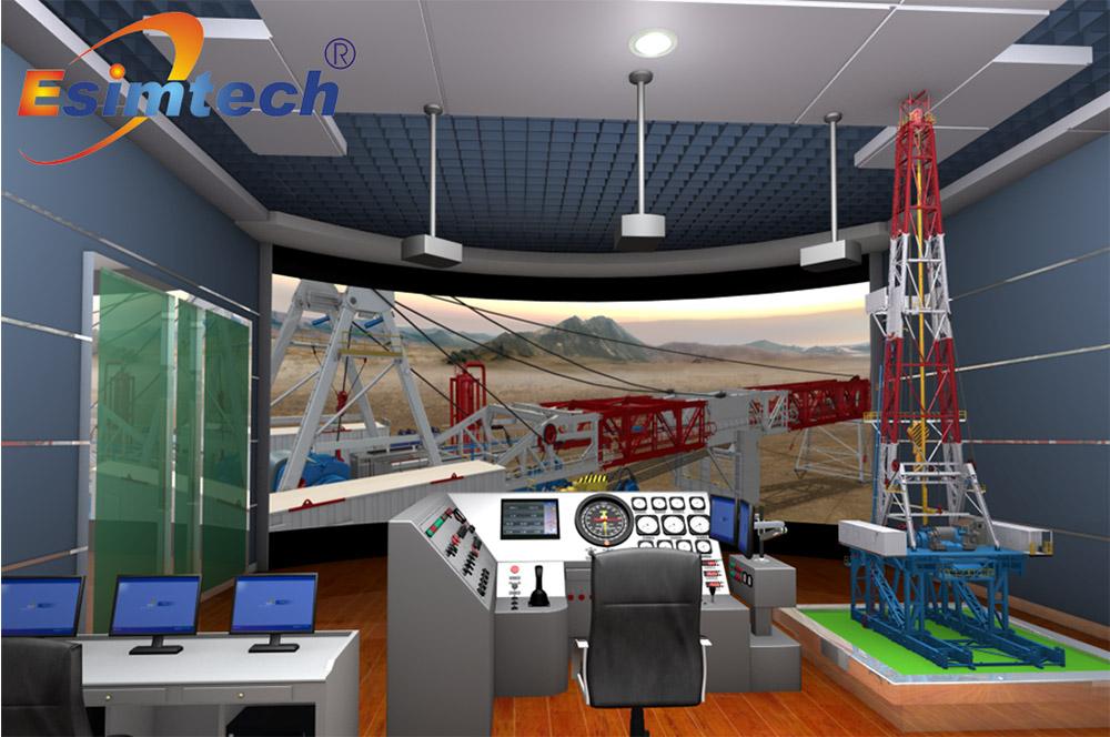 ESIM-FLR2 陆地钻机安装模拟培训系统 Featured Image