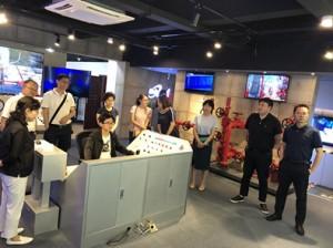 四川省台联各领导参观成都盛特