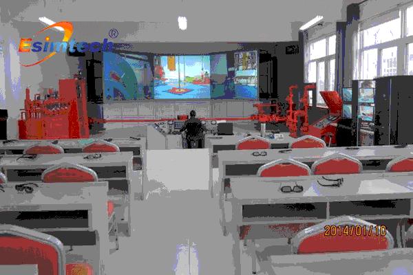 井控模拟演练系统CAVE