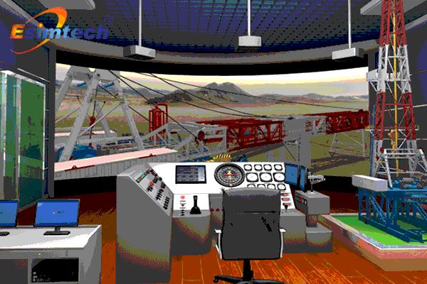 陆地钻机安装操作虚拟软件系统