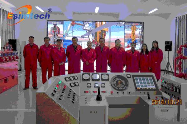 全尺寸钻井模拟培训系统