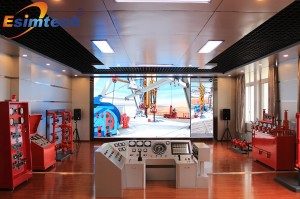 ESIM-FCC11全尺寸钻井模拟培训系统(钻井模拟器)